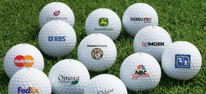 Corporate Golf Imprinting Logo Golf Balls Personalized Golf Balls