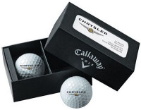 Callaway Chrome Soft 2-Ball Business Card Box