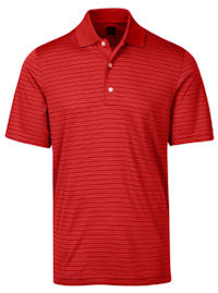 Greg Norman ML75 Micro Lux Stripe Polo (465)