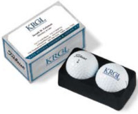 Titleist ProV1X Packedge 2-Ball Business Card Box