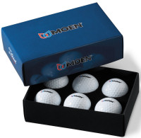 Titleist Tour Soft Packedge Half Dozen in Black Foam