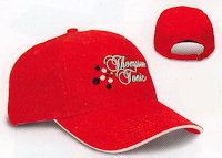 Custom Structured Sandwich Visor Cap i3010