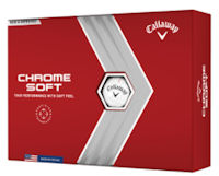 Callaway Chrome Soft Valuables Pouch with 6 Balls
