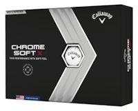 Callaway Chrome Softx Valuables Pouch with 6 Balls