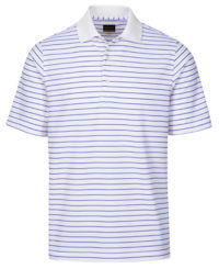 Greg Norman ProTek Micro Pique Stripe Polo(455)