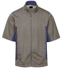 Greg Norman Full Zip Short Sleeve Weatherknit Rain Jacket (J045)