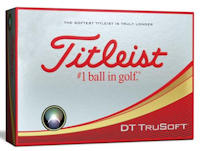 Titleist DT TruSoft Packedge 2-Ball Sleeve