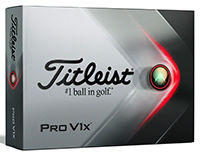 Titleist ProV1X Packedge Half Dozen w/ two custom sleeves