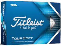 Titleist Tour Soft Packedge Half Dozen w/ two custom sleeves