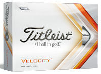 Titleist Velocity Packedge Half Dozen w/ two custom sleeves